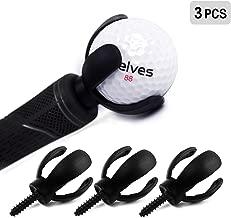 ELVES 3 PCS 4-Prong Golf Ball Retriever Grabber Pick Up Back Saver Claw Put On Putter..