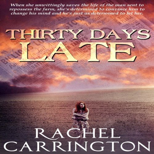 Thirty Days Late audiobook cover art