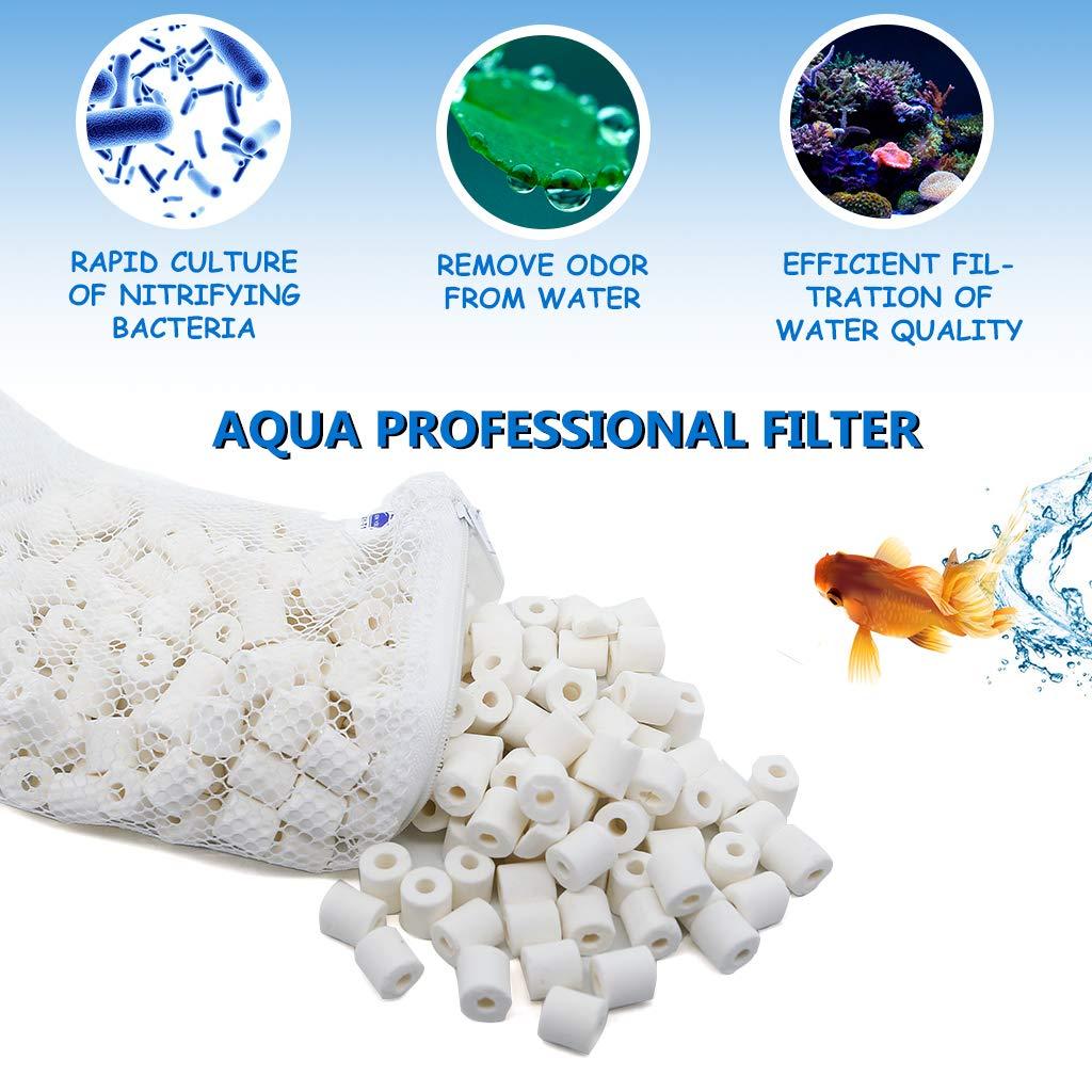 boxtech Aquarium Filter Media Ceramic