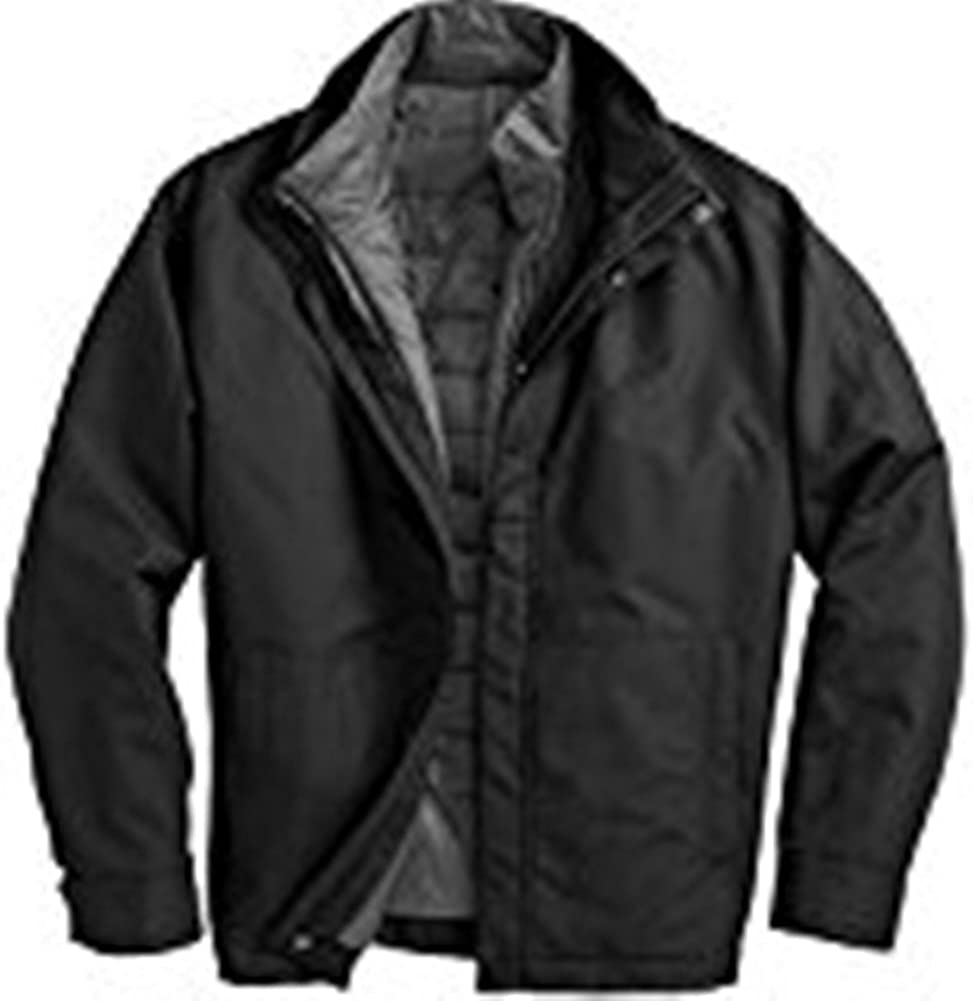 Weatherproof - Systems Jacket with Puffer Liner - Black - Large F141312