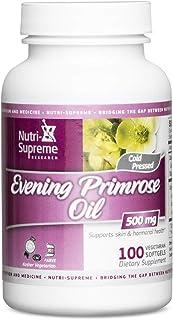 Evening Primrose Oil 500 Mg 100 Vegetarian Softgel - Certified Kosher