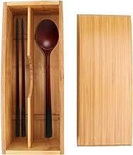 Oumefar Boîte de Rangement pour Couverts Boîte de Rangement pour cuillère avec séparateurs de fourches