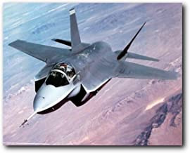 Aviation Wall Decor Lockheed Martin X-35 Joint Strike Jet Art Print Poster (16x20)