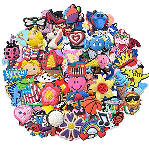 Lot of 30pcs Random Shoe Charms for Clog Shoes Shoe Decoration Charms