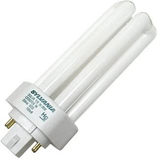 Sylvania 20879 (6-Pack) CF26DT/E/IN/827/ECO 26-Watt Triple Tube Compact Fluorescent Light Bulb, 2700K, 1746 Lumens, 82 CRI, T4 Shape, 4-Pin GX24q-3 Base
