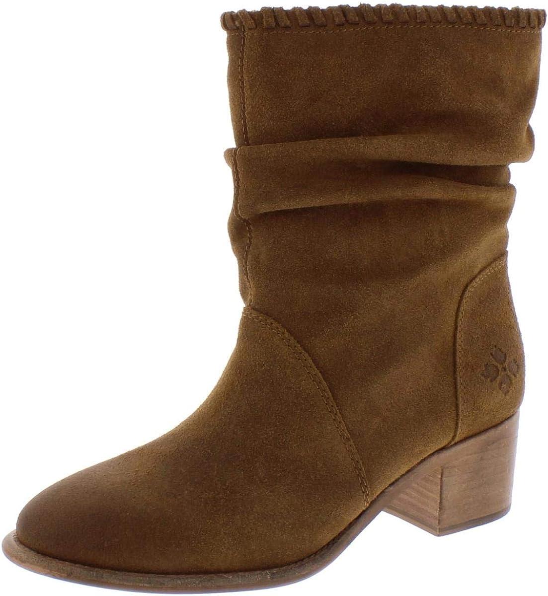 Patricia Nash Womens Monte2 Fabric Closed Toe Mid-Calf Riding Boots