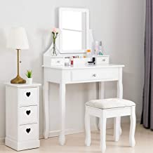 Best used white dressing table Reviews