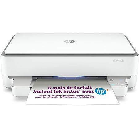 HP Envy 6020e Imprimante tout en un - Jet d'encre couleur – 6 mois d'Instant Ink inclus avec HP+, vos cartouches HP livrées chez vous sans avoir à y penser
