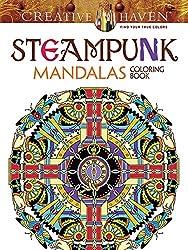 Steampunk Mandalas coloring book