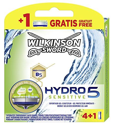 Cuchilla de afeitar Wilkinson Sword Hydro 5 Sensitive.