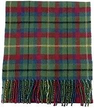 USA Kilts Irish County Mayo Wool Tartan Plaid Scarf Made in Scotland