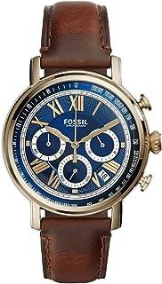 ساعة كاجوال للرجال من فوسيل FS5148 ، جلد