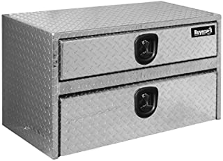 a0fcc983bcd Buyers Products Company Diamond Tread Aluminum Underbody Truck Box with  Drawer 20 in. x 18
