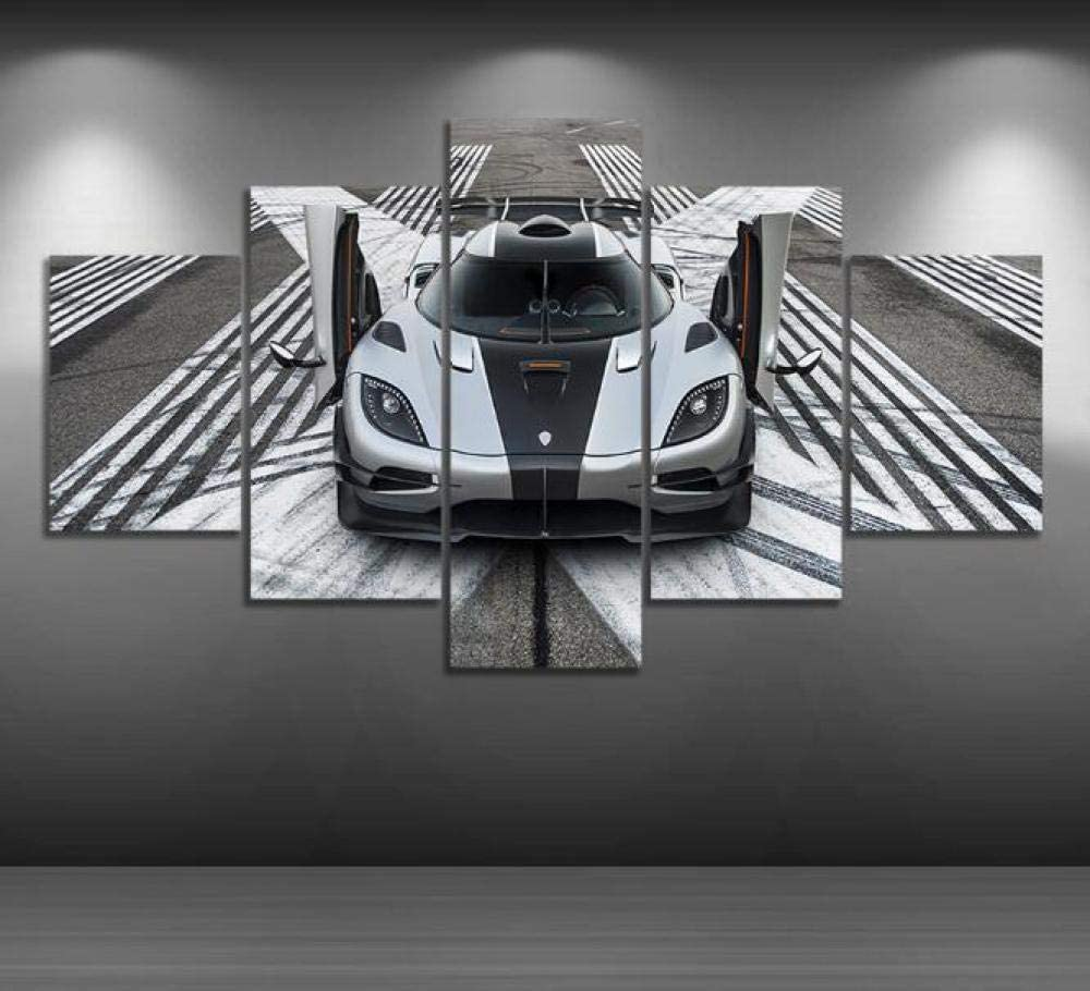 Posters safety Prints 5 Piece Super special price Pictures Koenigsegg Sport Vehicle