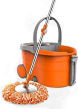 Magic Mop Bucket Rotating Mop Spinning Wet and Dry Mop Bucket Double Drive Mop Household Mop