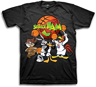 5d9959aff54 space jam Mens Classic Shirt - Tune Squad Michael Jordan & Bugs Bunny Tee  90's Classic