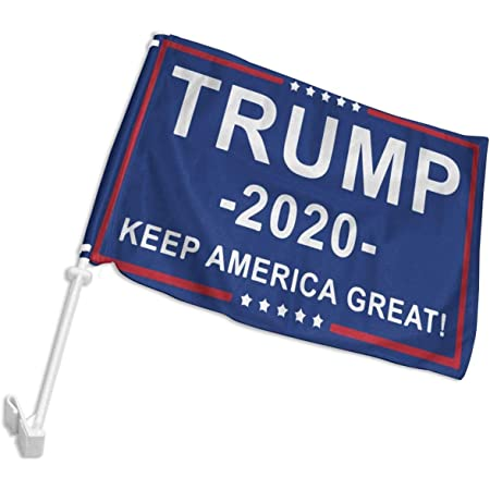 Clip Polyester America Flag Car Window Flag Donald Trump Presidential Election