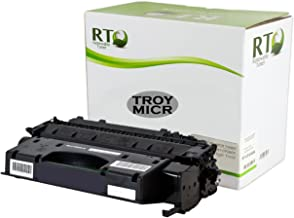Renewable Toner Compatible MICR Toner Cartridge High Yield Replacement for Troy 02-81551-001 HP CF280X 80X for use in Laserjet Pro 400 M401 M425 MFP