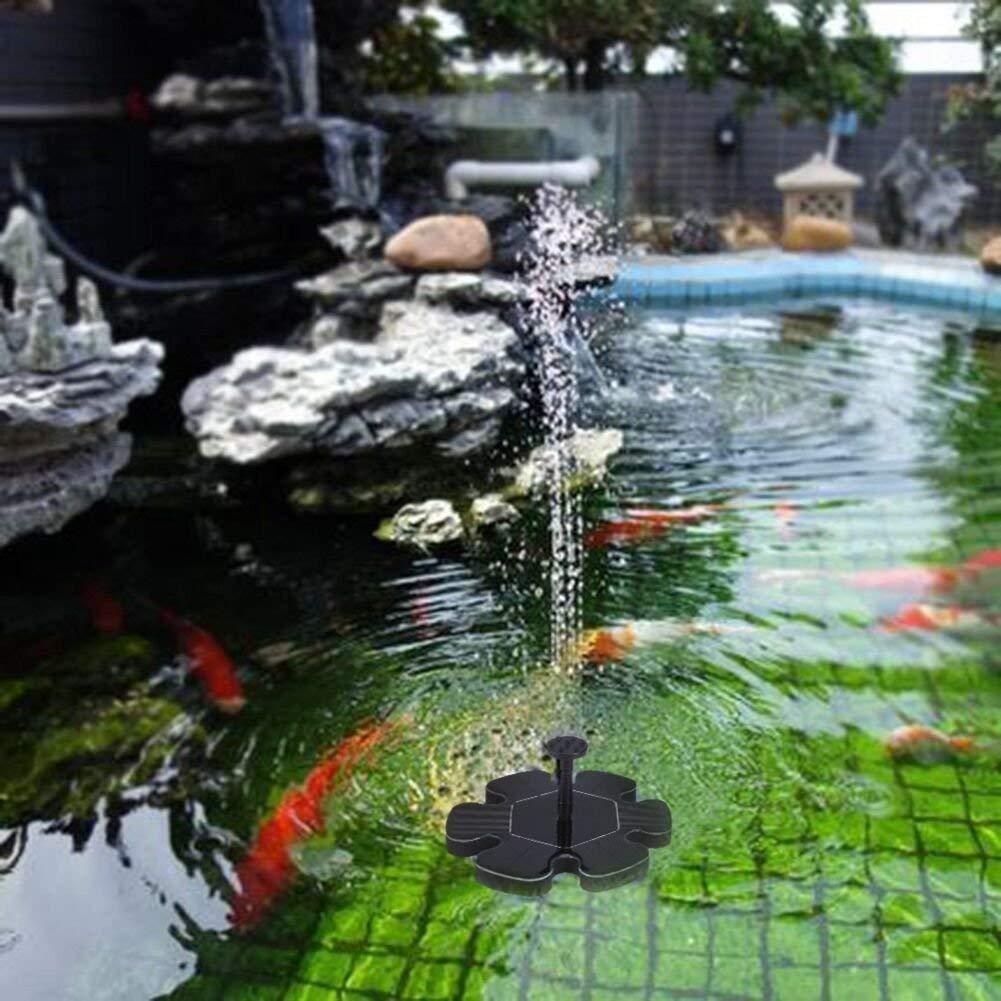 Wide.ling Bomba de Fuente Solar para pájaros, Bomba Sumergible para jardín, Estanque: Amazon.es: Jardín