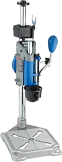 Dremel Drill Press Rotary Tool Workstation Stand with Wrench- 220-01- Mini Portable Drill Press- Tool Holder- 2 inch Drill Depth- Ideal for Drilling Perpendicular and Angled Holes- Table Top Drill