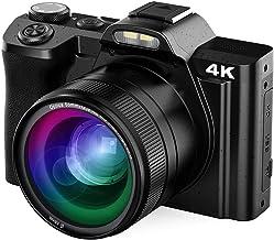 Digital Camera Vlogging Camera 48MP 4K AiTechny Video Camera Camcorder 16X Digital Zoom WiFi YouTube Camera 3.5