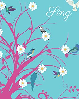 Sing: The perfect gift for anyone including birders who like a hummingbird, to kill a mockingbird, blue bird, dove themed ...