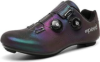 Men's Cycling Shoes Breathable Road Bike Mountain Bike SPD/SPD-SL Compatible Peloton Bike Indoor Spin Shoes,44