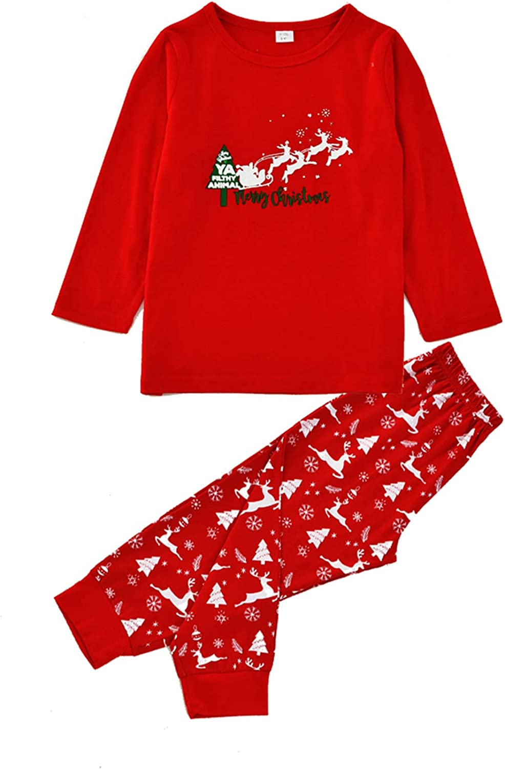 Matching Christmas Outfits for Family Cut Max 58% OFF New mail order Pjs Mom Dad Loungewear