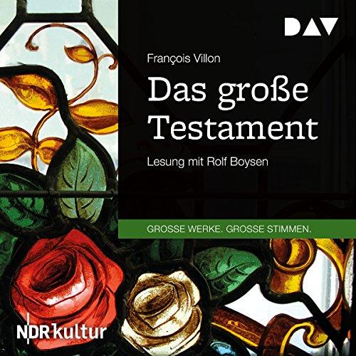 Das große Testament cover art