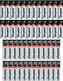24 pack of Energizer MAX alkaline AA batteries and 24 pack of Energizer MAX alkaline AAA batteries Our No.1 Longest Lasting MAX battery powers everyday devices Leak resistant construction protects your devices from leakage of fully used batteries for...