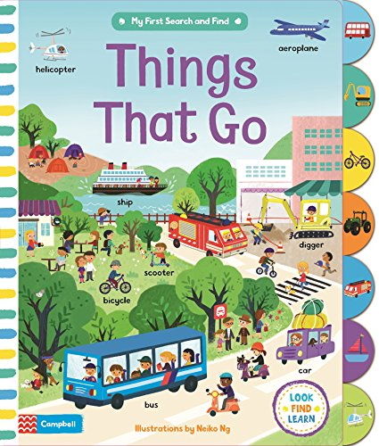 Things That Go (My First Search and Find)
