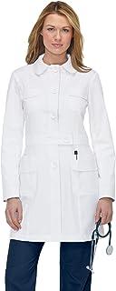 KOI 408 Women's Geneva Lab Coat White