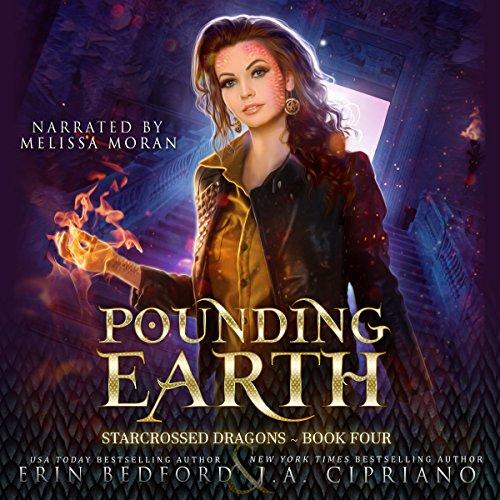Pounding Earth: A Reverse Harem Dragon Fantasy audiobook cover art