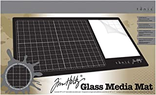 Tim Holtz Glass Media Mat ,Black
