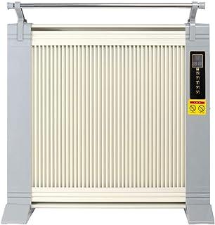Radiador eléctrico MAHZONG Calentador de Cristal de Carbono Home Control Remoto de Ahorro de energía de Doble Cara Calefacción Oficina