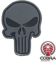 Cobra Tactical Solutions Anonymous Guy Fawkes Mask Parche Bordado T/áctico Moral Militar con Cinta adherente de Airsoft Paintball para Ropa de Mochila T/áctica
