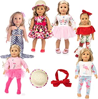 american girsl doll unicorn 11pc american girsl doll clothes 18 inch Doll Clothes American girsl Doll Accessories ,America...