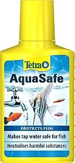 Tetra AquaSafe 100ml Aquarium Water Conditioner Anti Chlorine Chloramine N Heavy Metals Fish Protection