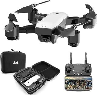 Goolsky SMRC S20 RC Drone 1080 P WiFi FPV Granangular Cámara Altitud Mantenga pulsado One Key Return Quadcopter para Principiantes en Entrenamiento