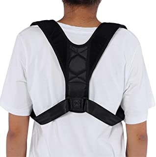 Zerone Back Posture Corrector, Super Thin&Light Physical Therapy Posture Brace Spinal Cord Posture Support for Neck Shoulder and Back, Effective Comfortable Shoulder Posture Brace with Hook & Loop
