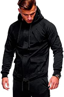 ACD 2018 Fashion Hoodies Men Sudaderas Hombre Hip Hop Mens Solid Hooded Zipper Hoodie