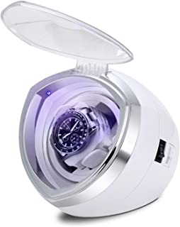 YLJYJ Automatic Watch Winder,Quiet Motor 4 Rotation Mode Settings Suitable for Men's and Ladies Wrist Watch