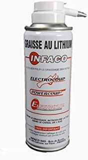 Grasa Litio Tijera eléctrica ELECTROCUP Spray 150 ml. Válida para todas las tijeras (3010.3015)