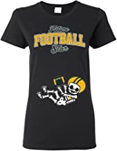 Baby Skeleton Green Bay Football Ladies (not Maternity) DT T-Shirt Tee
