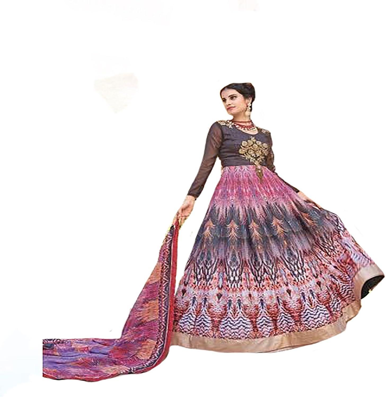 Bollywood Collection Indian Anarkali Salwar Kameez suit Ceremony wedding Bridal Muslim 8757