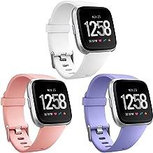 HUMENN Correa para Fitbit Versa/Fitbit Versa Lite, Edición Especial Deportes Recambio de Pulseras Ajustable Accesorios para Fitbit Versa Grande Pequeño, 12 Colores