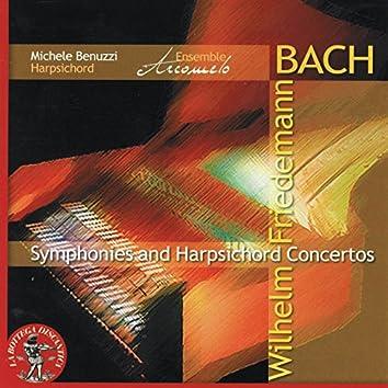 Wilhelm Friedmann Bach: Symphonies & Harpsichord Concertos