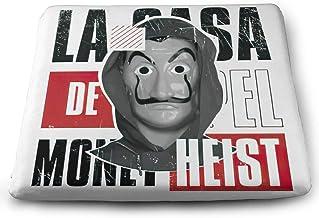 Leonner Money Heist Slow Rebound Material, Super Breathable Four-Season Universal Square Cushion