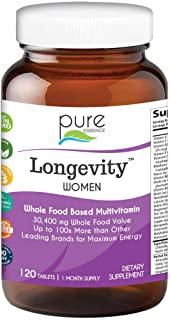 Sponsored Ad - Pure Essence Labs Longevity Women's Formula - Anti Aging Multiple - 120 Tablets