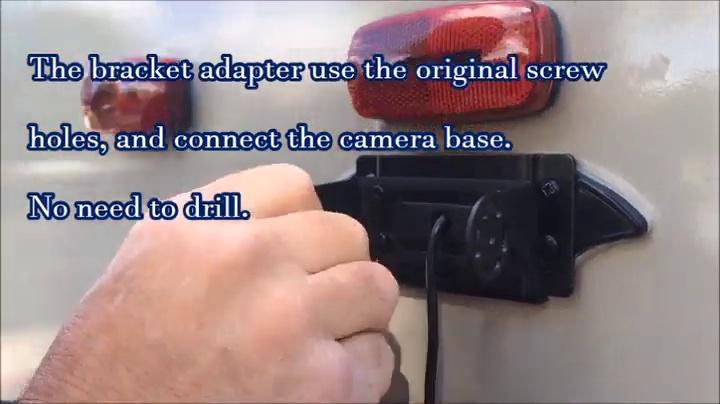 Trailer 7 Monitor FOS48T-BL//FOC12TA-BL for RV Adapter for Furrion FRCBRKT-BL Pre-install Mounting Kit 4Ucam Digital Wireless Camera 5th Wheels LYSB01FG7UEVQ-ELECTRNCS